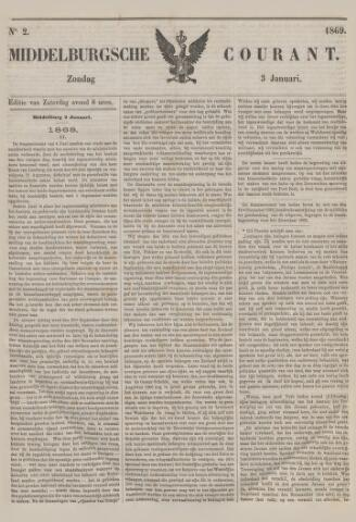Middelburgsche Courant 1869-01-03