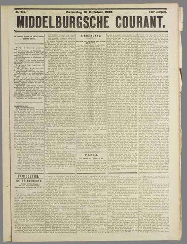 Middelburgsche Courant 1925-10-31