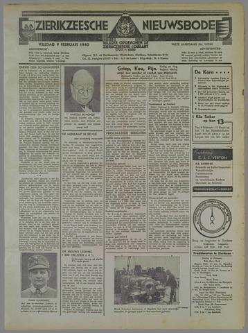 Zierikzeesche Nieuwsbode 1940-02-09