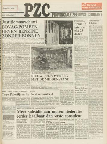 Provinciale Zeeuwse Courant 1974-01-25