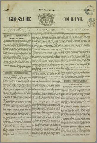 Goessche Courant 1854-01-09