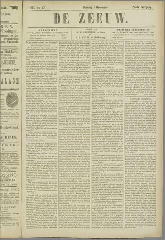 De Zeeuw. Christelijk-historisch nieuwsblad voor Zeeland 1891-12-01