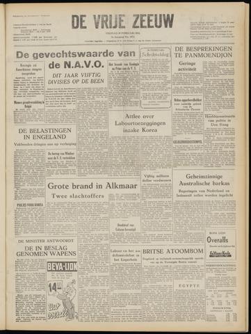 de Vrije Zeeuw 1952-02-29