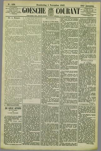 Goessche Courant 1917-11-21