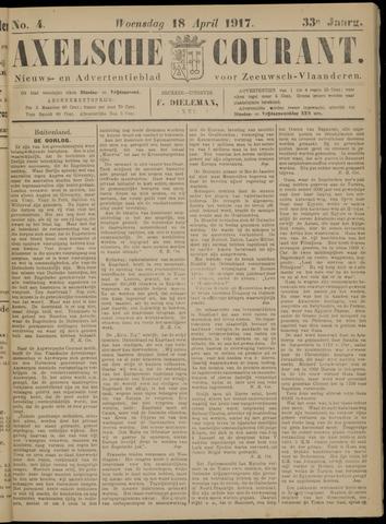 Axelsche Courant 1917-04-18