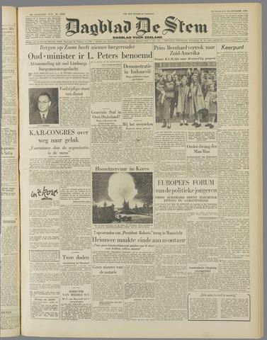 de Stem 1952-10-28