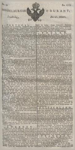 Middelburgsche Courant 1777-03-27