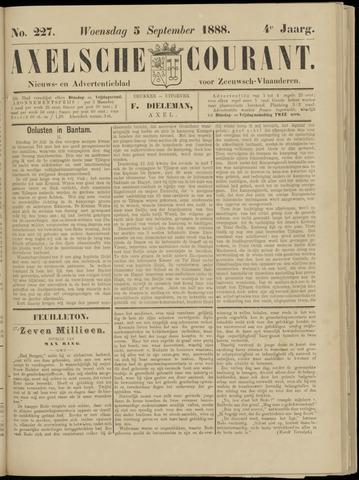 Axelsche Courant 1888-09-05