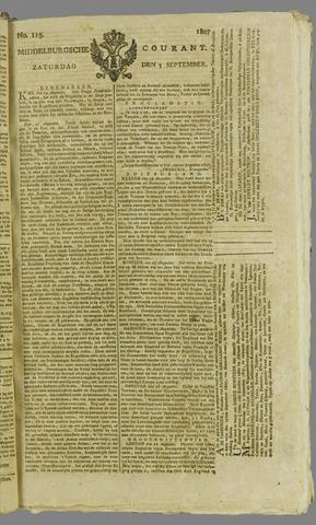 Middelburgsche Courant 1807-09-05