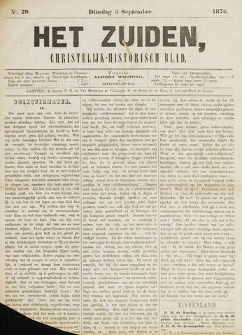 Het Zuiden, Christelijk-historisch blad 1876-09-05
