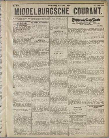 Middelburgsche Courant 1921-07-09