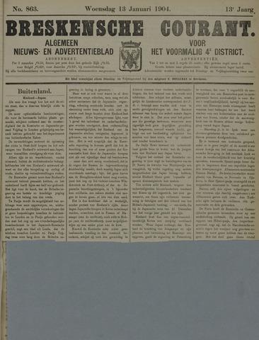 Breskensche Courant 1904-01-13