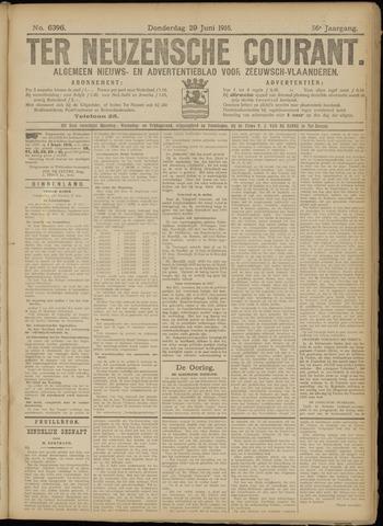 Ter Neuzensche Courant. Algemeen Nieuws- en Advertentieblad voor Zeeuwsch-Vlaanderen / Neuzensche Courant ... (idem) / (Algemeen) nieuws en advertentieblad voor Zeeuwsch-Vlaanderen 1916-06-29