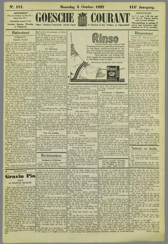 Goessche Courant 1927-10-03