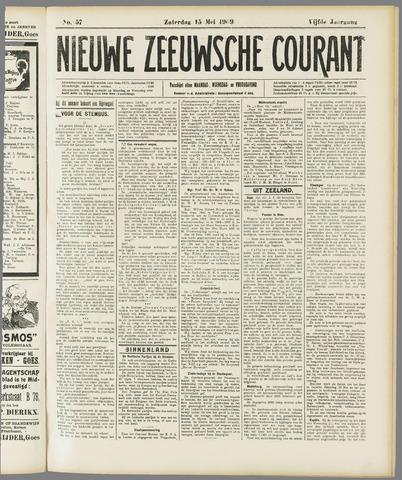 Nieuwe Zeeuwsche Courant 1909-05-15