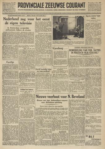 Provinciale Zeeuwse Courant 1951-10-03