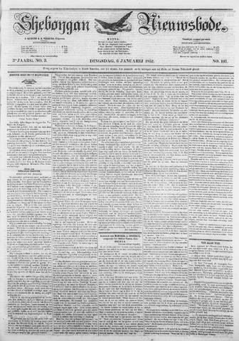 Sheboygan Nieuwsbode 1852