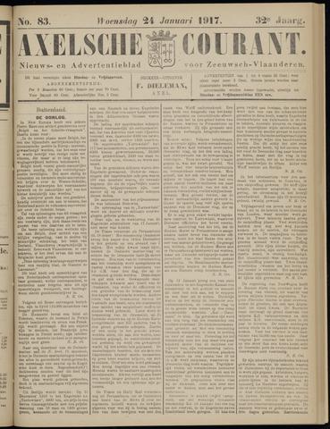 Axelsche Courant 1917-01-24