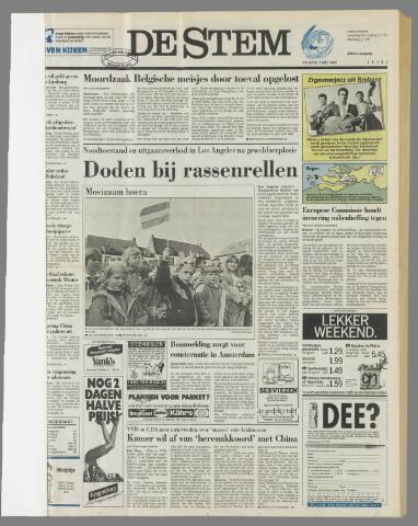 de Stem 1992-05-01
