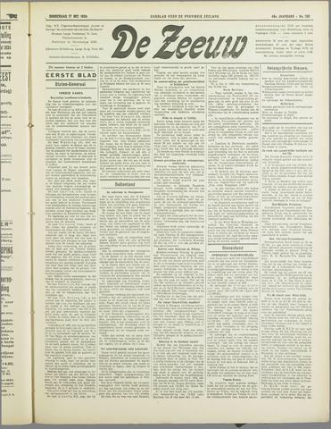 De Zeeuw. Christelijk-historisch nieuwsblad voor Zeeland 1934-05-17