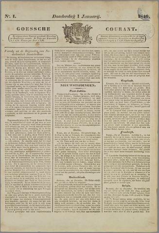 Goessche Courant 1846