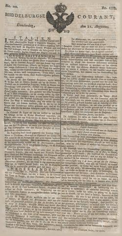 Middelburgsche Courant 1777-08-21