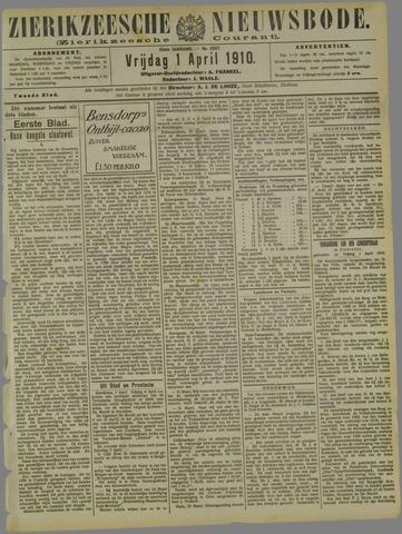 Zierikzeesche Nieuwsbode 1910-04-01