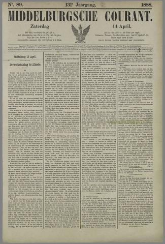 Middelburgsche Courant 1888-04-14