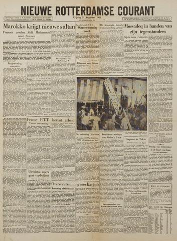 Watersnood documentatie 1953 - kranten 1953-08-21