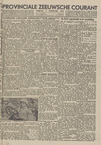 Provinciale Zeeuwse Courant 1943-02-05