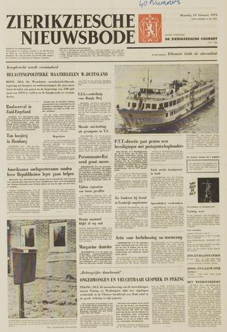 Zierikzeesche Nieuwsbode 1973-02-19