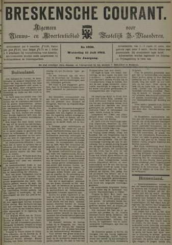 Breskensche Courant 1914-07-15