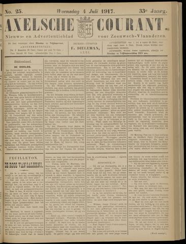 Axelsche Courant 1917-07-04