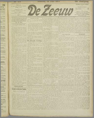 De Zeeuw. Christelijk-historisch nieuwsblad voor Zeeland 1917-06-19