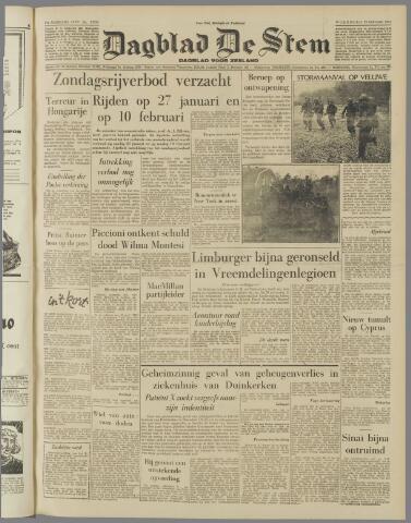 de Stem 1957-01-23