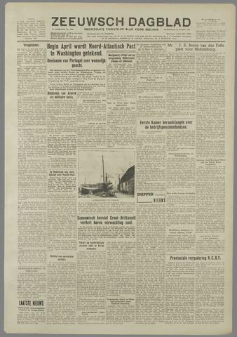 Zeeuwsch Dagblad 1949-03-16