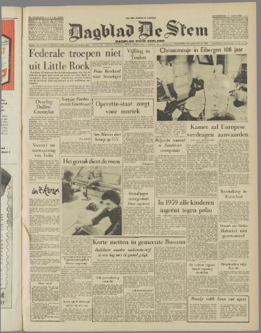 de Stem 1957-10-03
