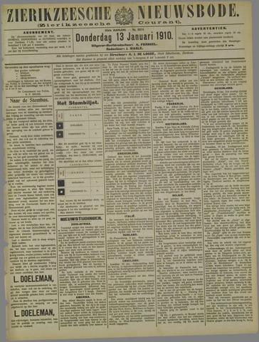 Zierikzeesche Nieuwsbode 1910-01-13