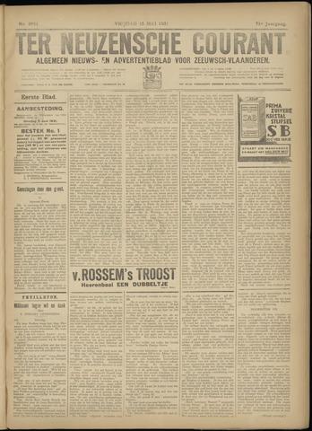 Ter Neuzensche Courant. Algemeen Nieuws- en Advertentieblad voor Zeeuwsch-Vlaanderen / Neuzensche Courant ... (idem) / (Algemeen) nieuws en advertentieblad voor Zeeuwsch-Vlaanderen 1931-05-15