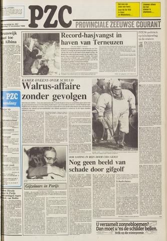 Provinciale Zeeuwse Courant 1986-11-12