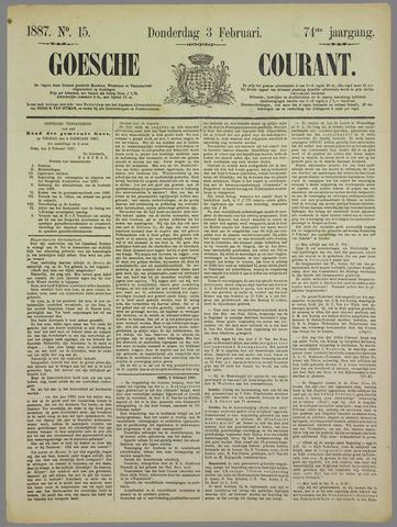 Goessche Courant 1887-02-03