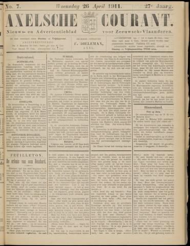 Axelsche Courant 1911-04-26