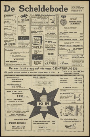 Scheldebode 1960-01-28