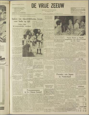 de Vrije Zeeuw 1962-11-22
