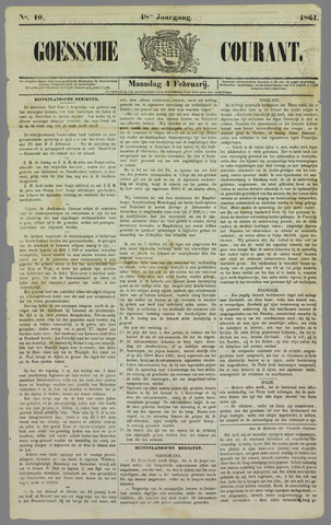 Goessche Courant 1861-02-04
