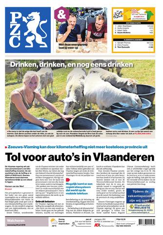 Provinciale Zeeuwse Courant 2018-07-25