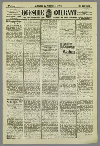Goessche Courant 1924-09-27