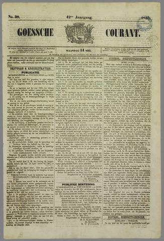 Goessche Courant 1855-05-14