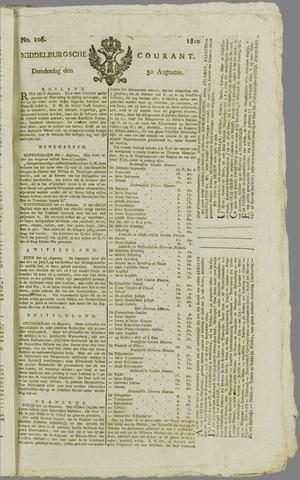 Middelburgsche Courant 1810-08-30