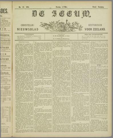 De Zeeuw. Christelijk-historisch nieuwsblad voor Zeeland 1896-05-05